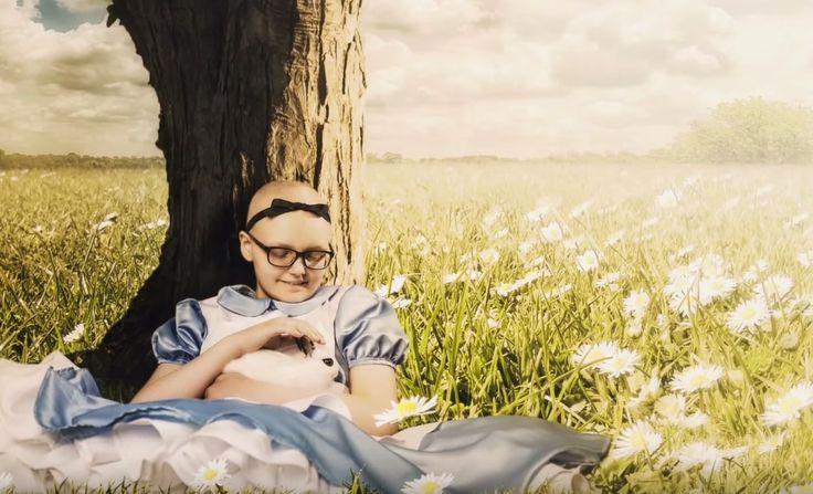 Em ensaio emocionante, fotógrafo transforma crianças com câncer em criaturas fantásticas