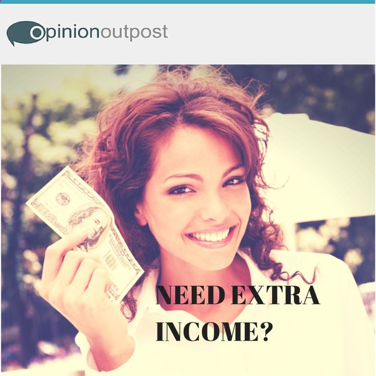 Taking a few online surveys for some extra cash will take the strain off of your budget. So what are you waiting for? Click on the image to get started for FREE!
