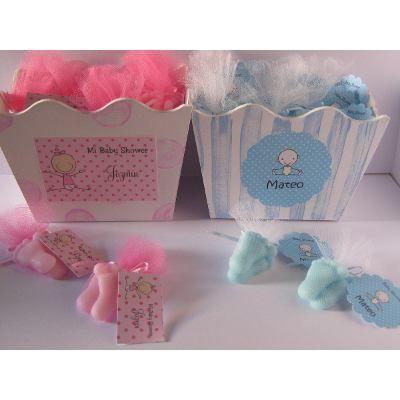 Jabones Piecitos Souvenir Nacimiento Baby Shower - $ 170,00 en MercadoLibre