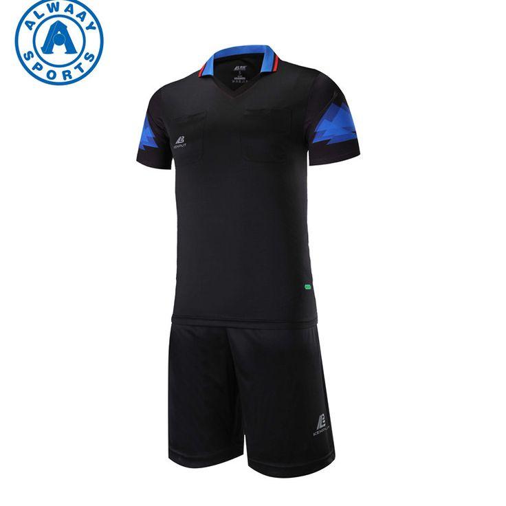 Soccer referee jersey custom soccer uniform bulk referee shirts plain referee uniforms