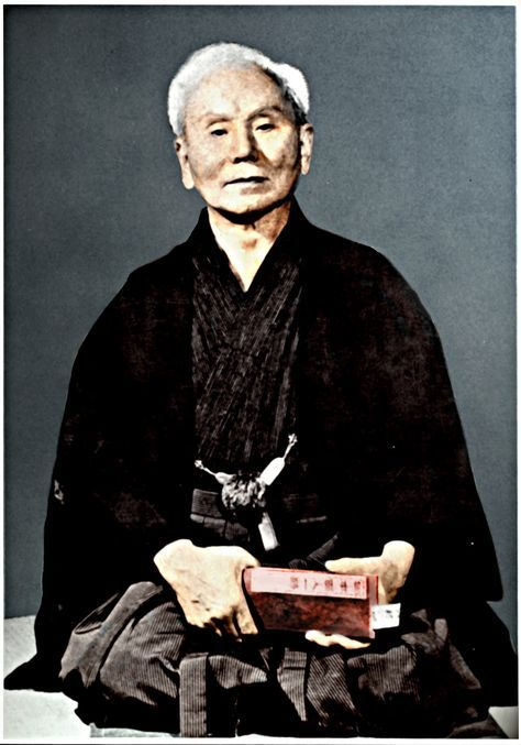 BUSHIDO - Karaté Club Cazères Gichin Funakoshi (船越 義珍 Funakoshi Gichin), fondateur du karaté Shotokan,
