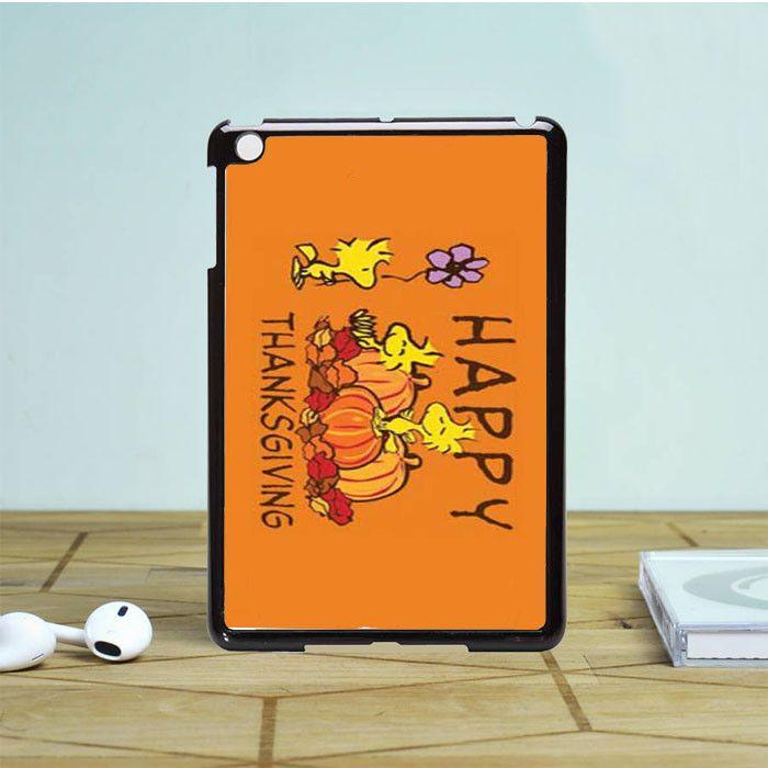 Peanuts Thanksgiving Woodstock iPad Mini 2 Case Dewantary