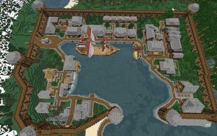 Old harbor spawn // QbicGaming, creation #594