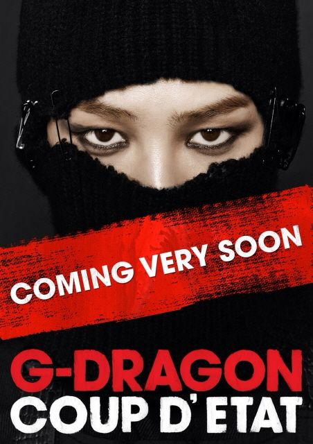 G Dragon Releases The Image Of His Upcoming Solo Album
