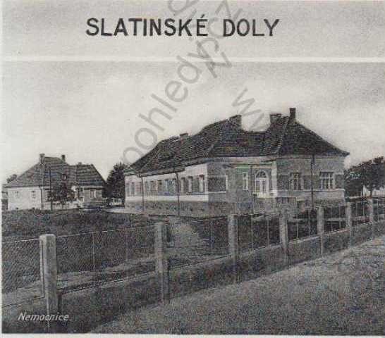 Slatinské Doly - Mukacevo State Hospital Annex (Subcarpathian Ruthenia)