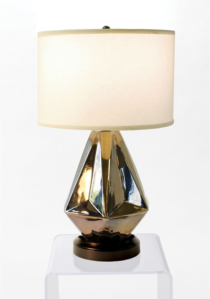 Prisma Bronze Cordless Lamp - Made in the USA