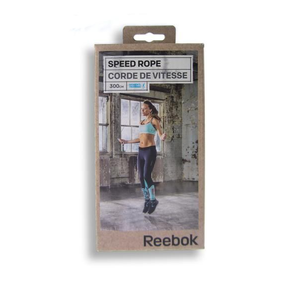 Reebok Speed Rope for improved cardio fitness. Adjustable length. Women's skipping rope. Purchase online with delivery Australia wide. $14.99