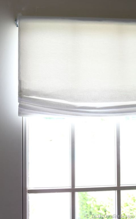 Best 25 relaxed roman shade ideas on pinterest roman for Restoration hardware window shades