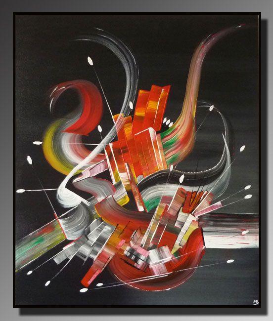 Artwork >> Belfodil Martine >> Abstract painting THRILL #artwork, #masterclass, #art, #contemporary