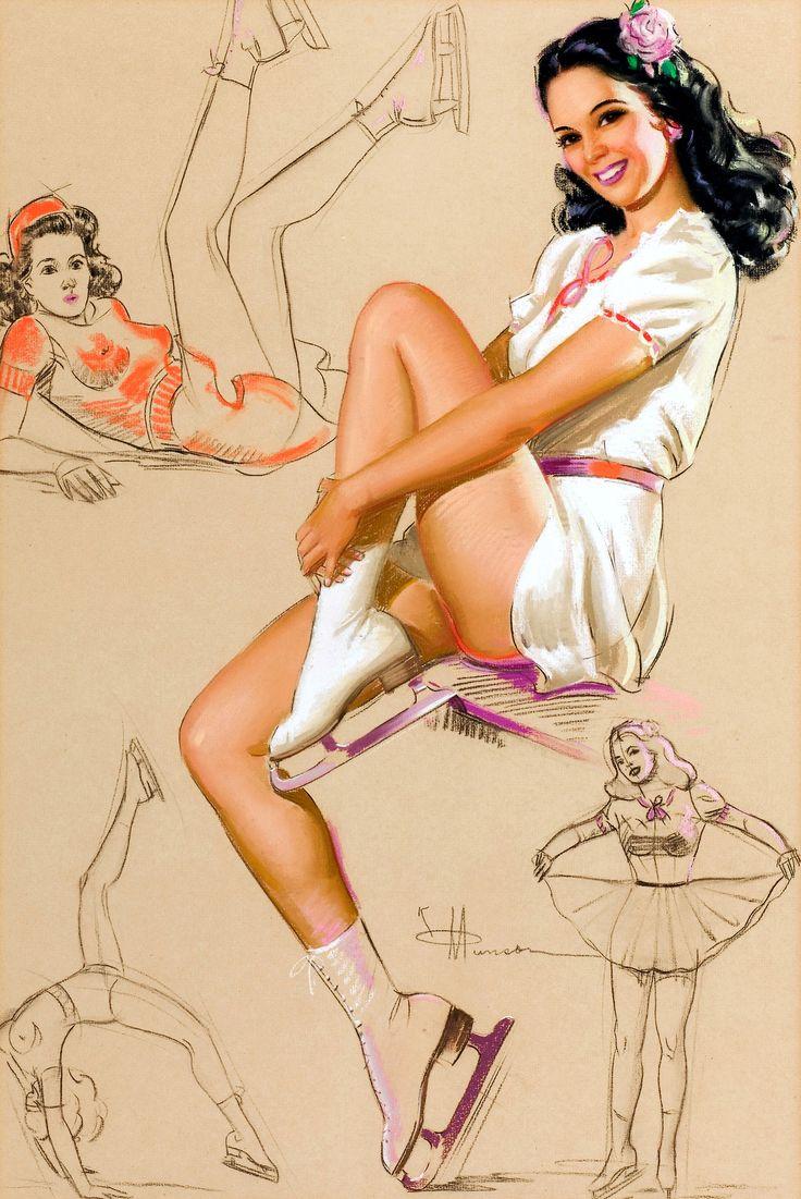 Pin-Up on Skates by K. O. Munson