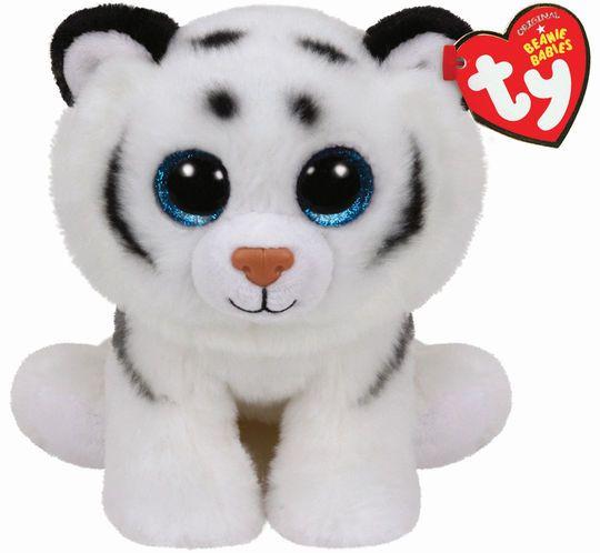 Ty Original Beanie Babies White Tundra Tiger, Medium