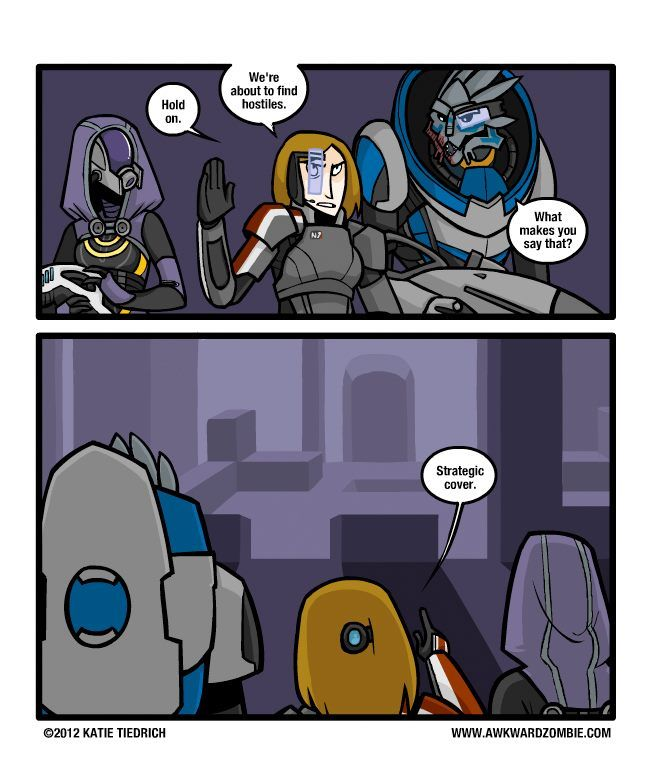 Mass Effect humor