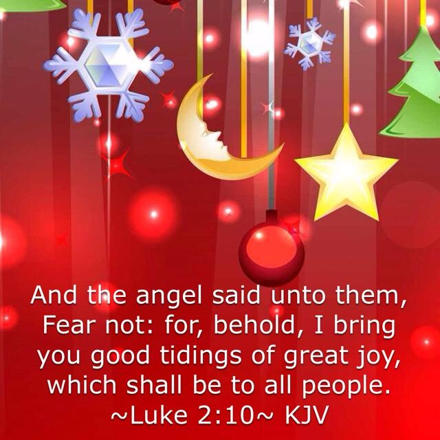 And The Angel Said Unto Them, Fear. Daily BreadBible ScripturesKing ...