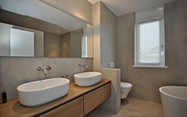 Best herijgers betonstuc images bathroom