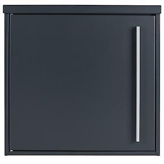 Mail box MOCAVI vak 101 antraciet grijs (RAL 7016) / grijs 12 liter muur brievenbus