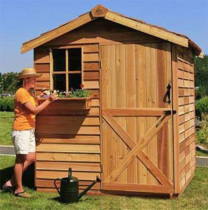 Garden Sheds for Sale, Cedar Sheds, Discount Shed Kits, Home Office Studios, Prefabricated Cabins