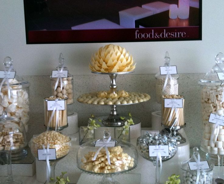 Wedding Dessert Bar - We theme to your requirements and work alongside your other suppliers.