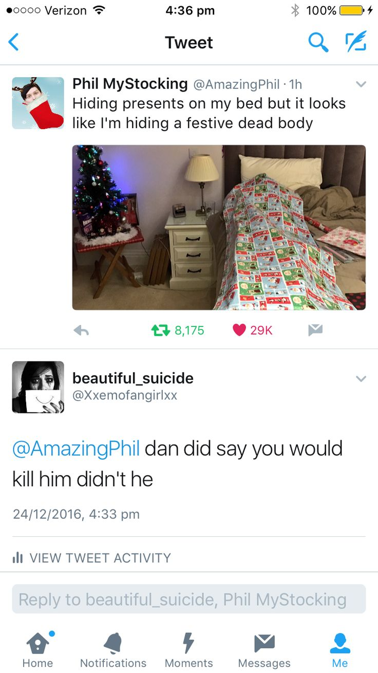 Omg Phil killed Dan>>we all knew this day would come