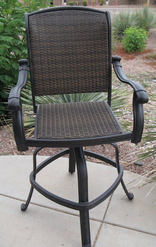 Swivel Outdoor Bar Stool WoodWorking Projects Plans
