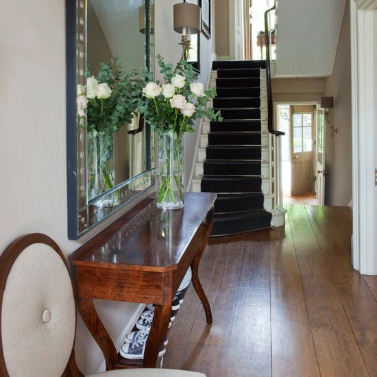 Image result for narrow victorian hallway ideas