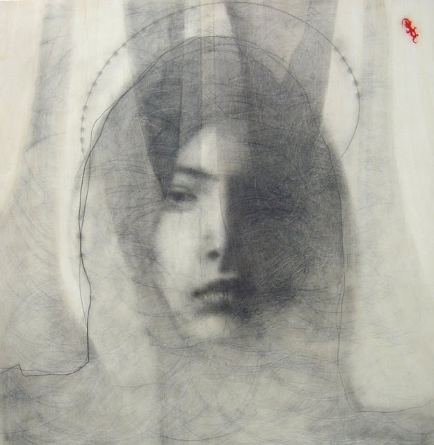 Omar Galliani | 1954 | Italy This is how I remember my mother when she was depressed. In 1954 she was 22, with 3 kids and another on the way.