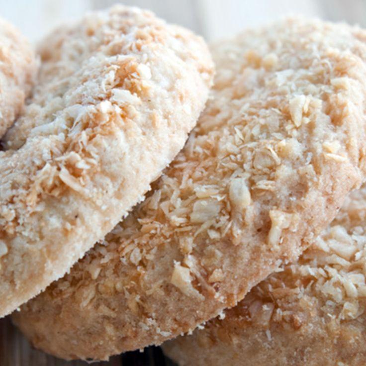 Biscuiti de casa cu nuca de cocos