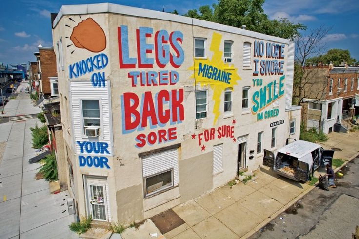 Love Letters. A series of murals in Philadelphia. Might like to get some prints for our kitchen/living area.