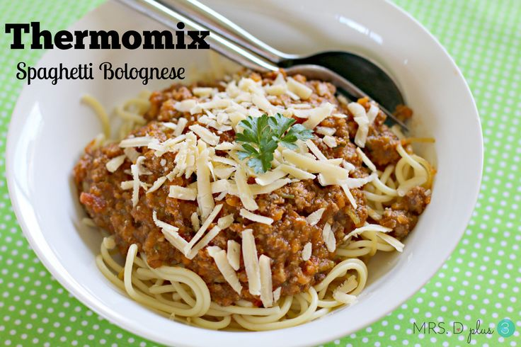 The best ever thermomix Spag Bol