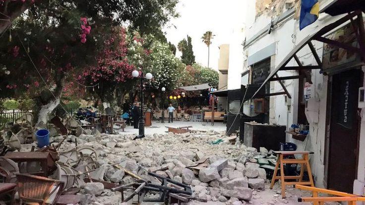 Al menos dos muertos en la isla griega de Kos tras un terrremoto