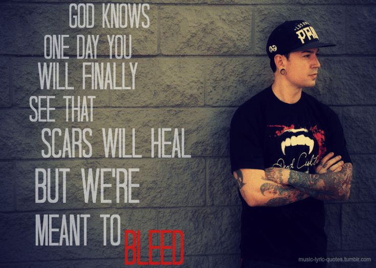 Hollywood Undead Quotes...