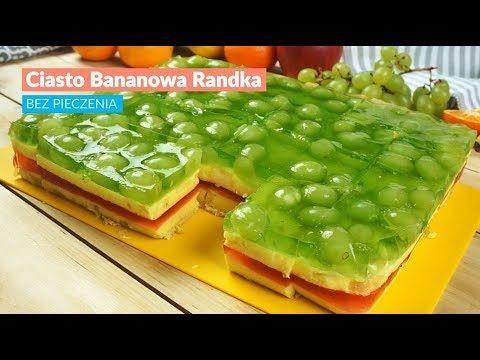 Ciasto Bananowa Randka - BEZ PIECZENIA Kobieceinspiracje.pl
