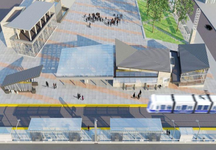 Metro line LRT Edmonton