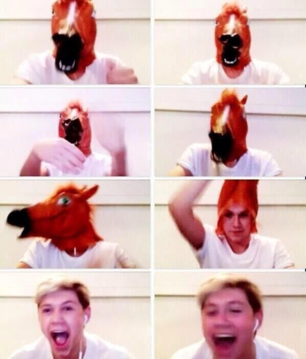"""why is the one direction fandom so weird?"" Well you can kind of see where we get it from.."