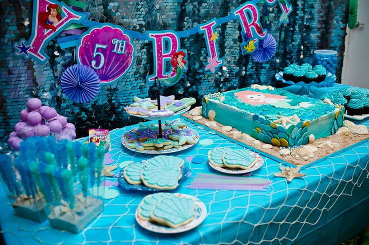 Kristen's Little Mermaid and Under the Sea Birthday Party ...