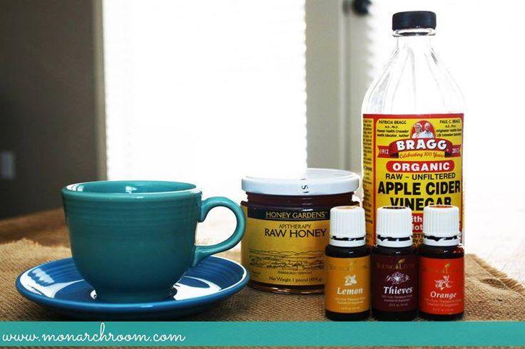 DIY Apple Cider Vinegar Detox Drink Recipe for Fat Burning ...