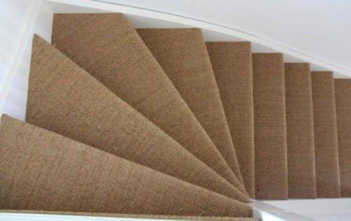 sisal trapbekleding voor een dichte trap