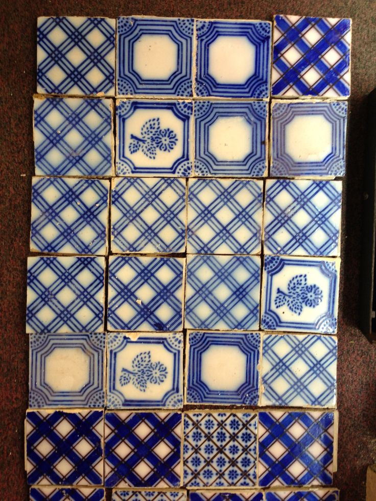 French tiles