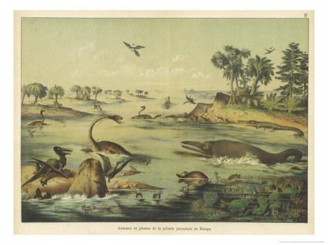 Jurassic period plants and animals - photo#32