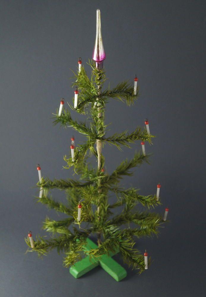 Alter Gansfederbaum Federbaum Weihnachtsbaum Christbaum 50