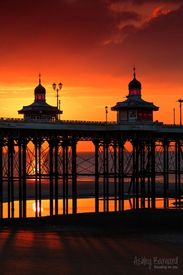 Blackpool Pier by ashley barnard. #Readerphotooftheweek