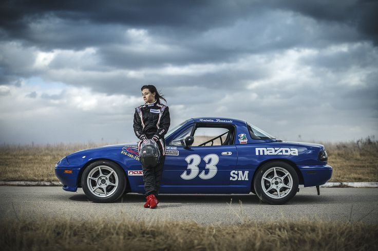 Photos of a High School Speed Racer  Heart Mazda and Lady