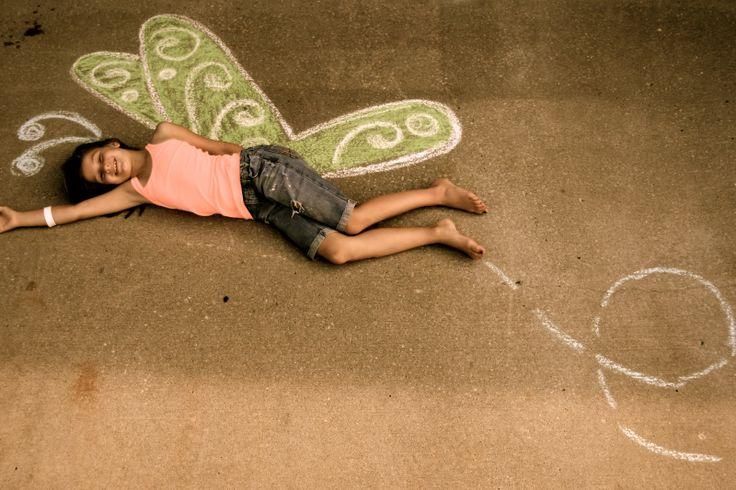 sidewalk chalk photography - Google Search