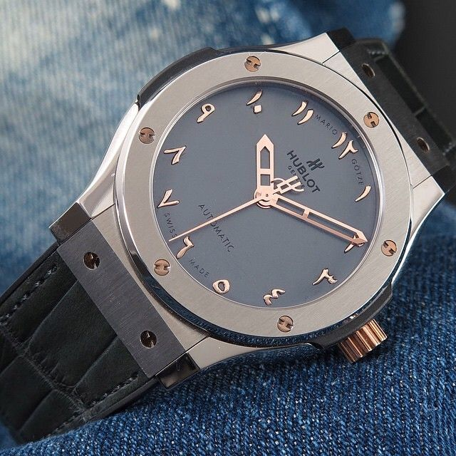 womw: @Hublot Classic Fusion Visions with Arabic numerals ...