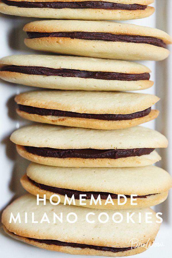 Copycat recipe milano cookies