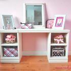 play vanityLittle Girls, Plays Vanities, The White, Diy Furniture, Diy Desks, Girls Room, Diy Vanities, Furniture Plans, Diy Projects