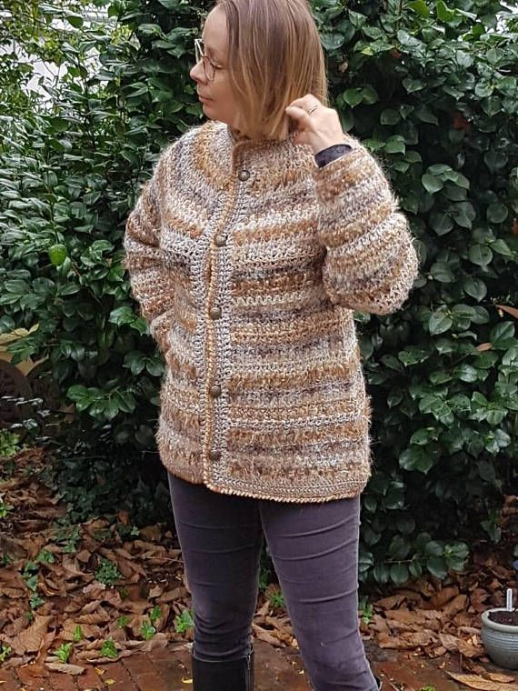 Check out this item in my Etsy shop https://www.etsy.com/uk/listing/572860775/honey-coloured-zigzag-coat-cardigan