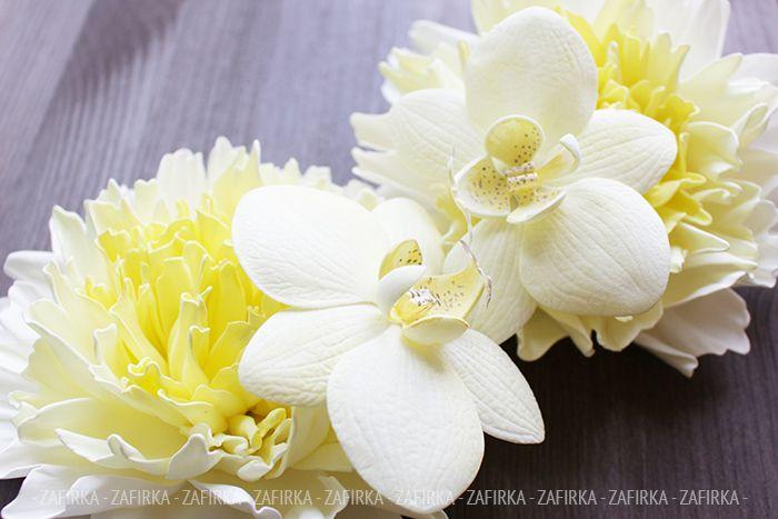 Орхидеи своими руками из фоамирана