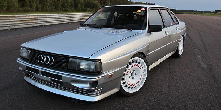 B2 era Norwegian Audi 80 quattro // 760-hp