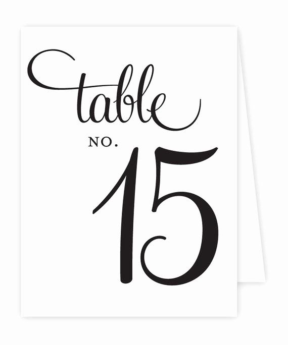 Free Tent Card Template Inspirational Reception Table Numbers Printable Tent Styl Wedding Table Numbers Template Card Templates Printable Wedding Table Numbers