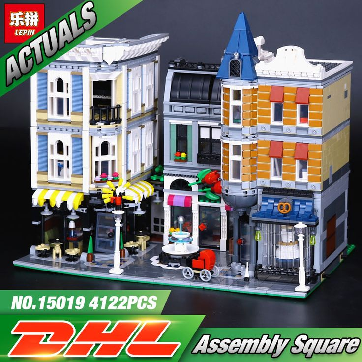 LEPIN Assembly Square (Knockoff LEGO) (4122 Pieces) Dream City 3/5